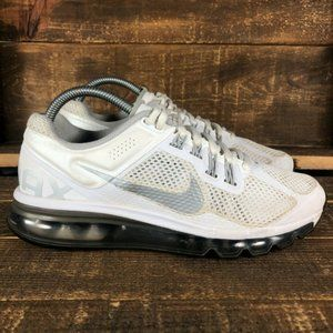 Nike Air Max 2013 5555426-100 Lace Up Running Shoe